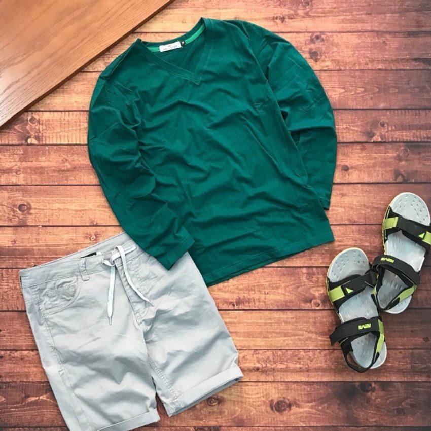 áo thun nam body - quần short pull pear 5