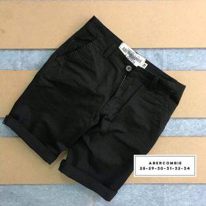 Sỉ sll quần short kaki 2 túi chéo trước với phần lưng dây thắt nịt đen