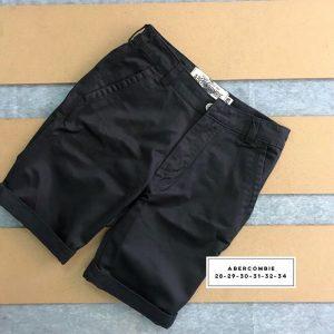 Sỉ sll quần short kaki 2 túi chéo trước với phần lưng dây thắt nịt xanh xám