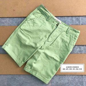 Sỉ sll quần short kaki 2 túi chéo trước với phần lưng dây thắt nịt xnah lá
