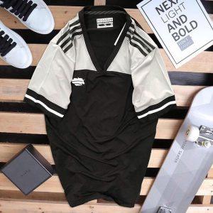 Áo thun thể thao nam Pegasus đen + trắng