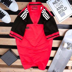 Áo thun thể thao nam Pegasus – ATN5255 đỏ + đen