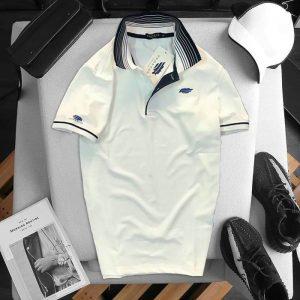 Áo thun Pegasus cổ bẻ màu trắng